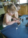 Key developmental Indicator: Exploring art material.
