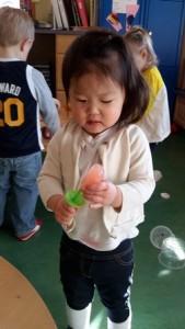 Key Developmental Indicator: Exploring objects.