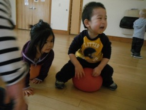 Key Developmental Indicator: Playing with others