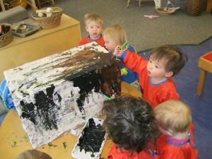 Key Developmental Indicator: Exploring art materials.